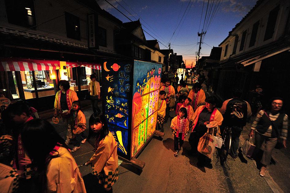 lantern festival japan yame