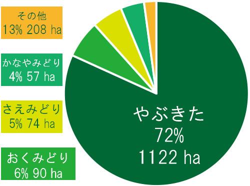 やぶきた 福岡の八女茶 推奨品種